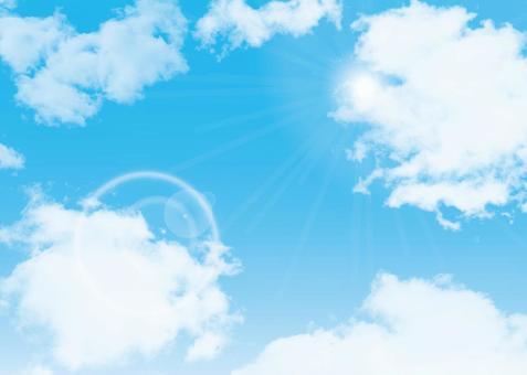 天空藍天藍色的天空藍色背景幀幀圖片
