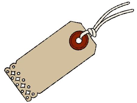 Paper tag ②