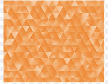 Geometric pattern of oranges