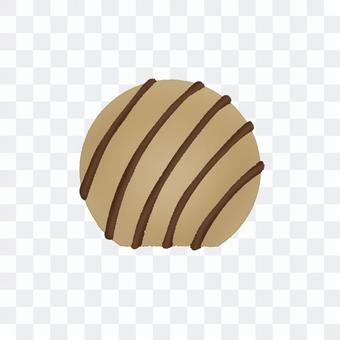 球形摩卡巧克力(無輪廓)