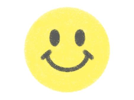 Nico-chan mark drawn with crayons Smile