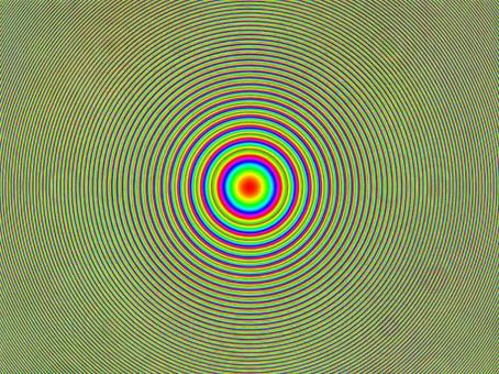 帶漸變的抽象波紋圖案