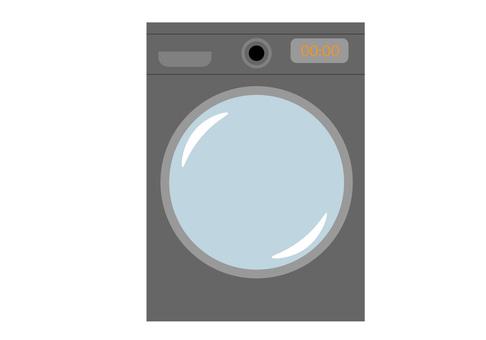 洗衣機滾筒式黑色