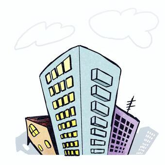 建筑物(彩色)