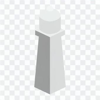 燈塔(沒有電線)燈塔