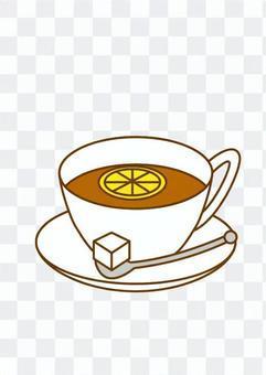 檸檬茶(熱)