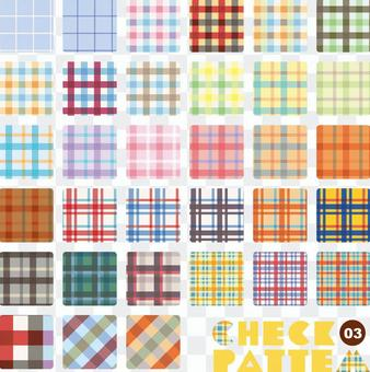 Pattern collection check 03