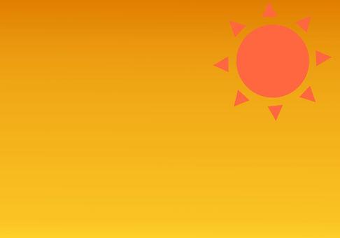 傍晚的太陽背景