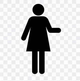 Pictogram (female_communication)