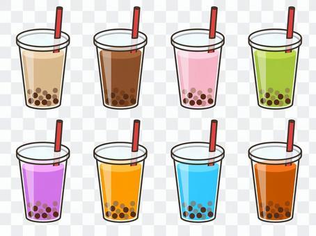 Tapioca drink set