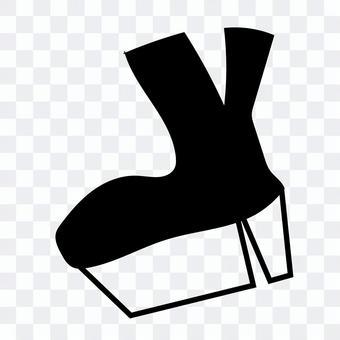 厚底ブーツ(黒)