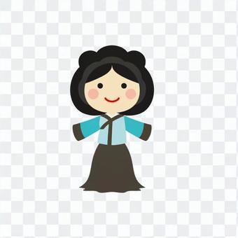 Hanbok women 3