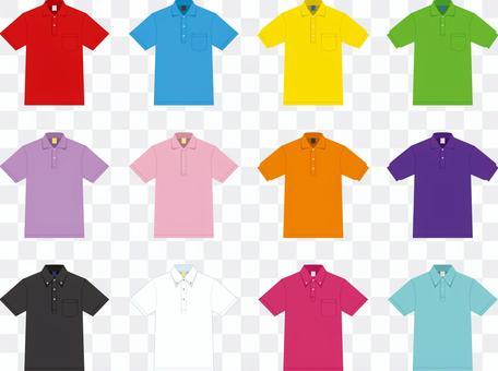 Polo衫顏色設置