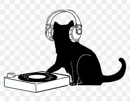 黑貓剪影DJ