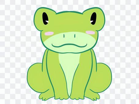 青蛙黃綠色