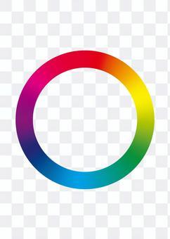 色相リング カラフルリング 色相環