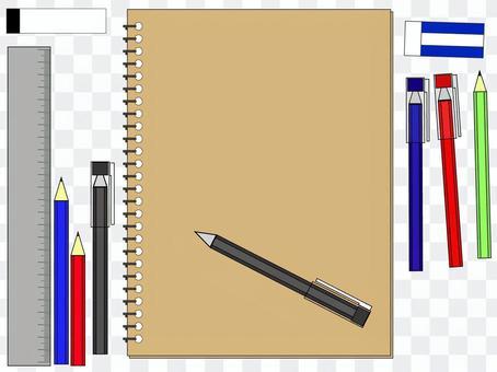 Cut writing instrument