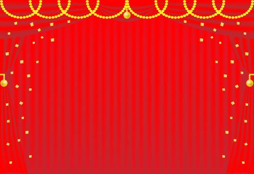 Daichi紅色和金色(帶背景)