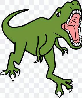 恐竜のイラスト(ティラノサウルス)