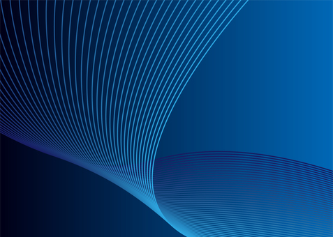Blue abstract background line art technology