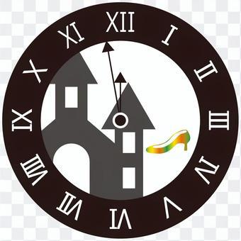 Cinderella-like clock