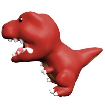 Loose Tyrannosaurus horizontal CG
