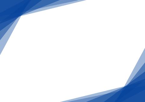 Light frame background blue blue