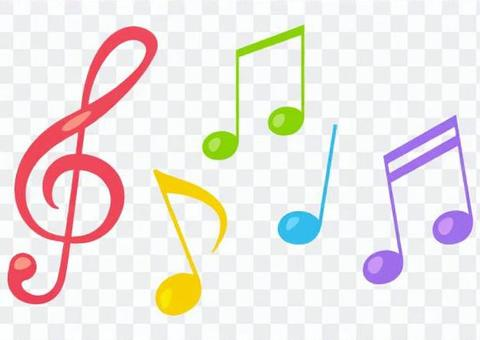 Musical notes and tones 2
