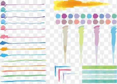 水彩設計標題集