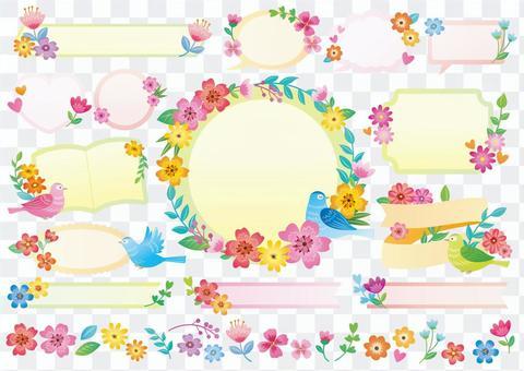 鳥和花框架摘要