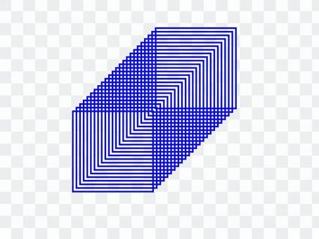 連續矩形框
