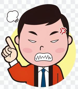 手指半男書記(殺人)