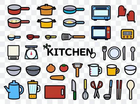 廚房插圖集