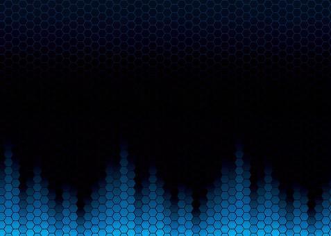 ハニカムテクノロジー 青