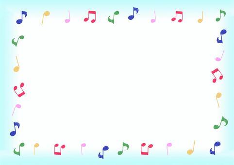 音符框架①