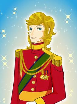 金發碧眼的王子
