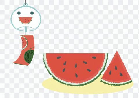 summer_watermelon和風鈴2