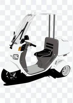 3轮滑板车