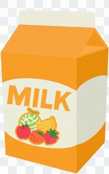 フルーツ牛乳 パック