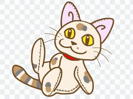 毛绒动物(猫)