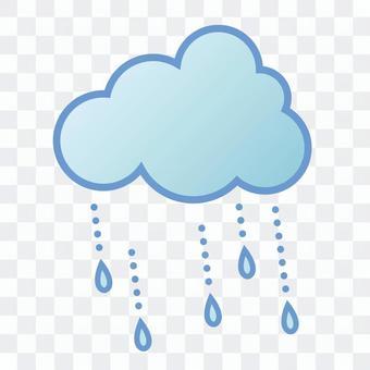 """天氣圖標""""雨"""""""