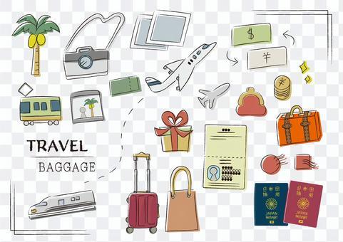 海外旅行 持ち物 キャリーバッグ 準備