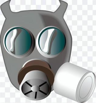 ガスマスク 保護 生物兵器 有害 有毒