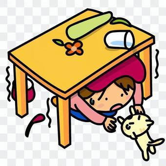 災難插圖·地震
