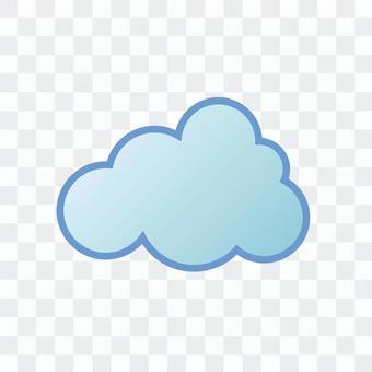 """天氣圖標""""Cloud 1"""""""
