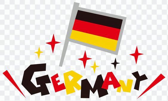 GERMANY ☆ Germanie ☆ German flag