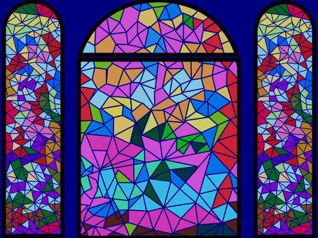 设计彩绘玻璃