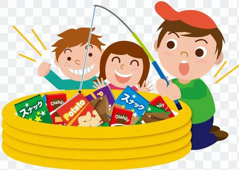 Candy fishing