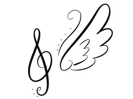 Tone symbol One wing