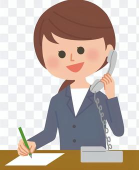 Office worker phone